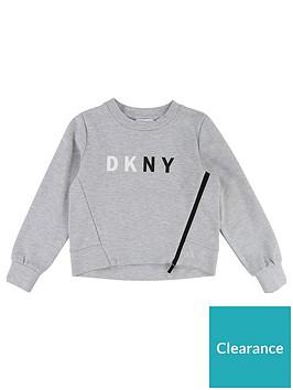 dkny-girls-logo-zip-front-sweat-top