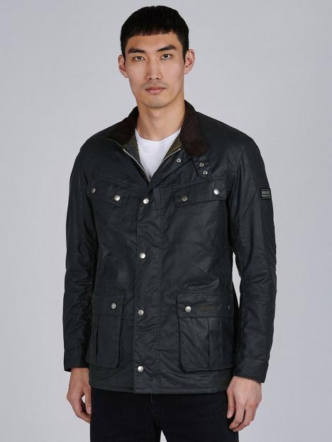 barbour-international-duke-wax-jacket-sage