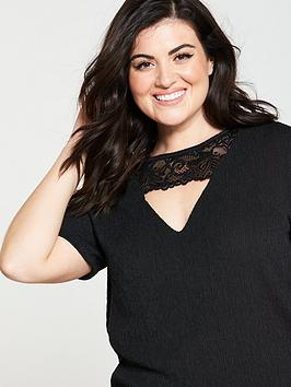 Lace Top Very Jersey Neck V Curve by For Sale Top Quality Free Shipping Finishline Outlet 100 Original 18Fh408cV