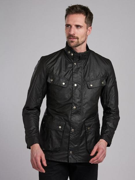 barbour-international-duke-wax-jacket-black
