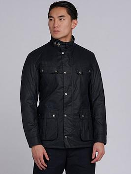 barbour-international-duke-wax-jacket-navy