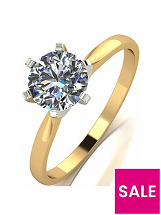 moissanite-18-carat-yellow-gold-1-carat-solitaire-ring