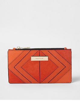river-island-slim-foldout-purse-orange