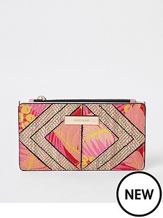 river-island-river-island-slim-foldout-purse-red-print