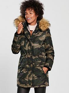 v-by-very-camouflage-parka-print