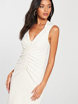 KAREN Controlled MILLEN Dress Ruched Exclusive Free Shipping Cheap BqhUOilH
