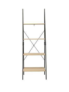 telfordnbspindustrial-ladder-bookcase