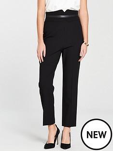 karen-millen-high-waist-trouser-black