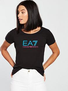 emporio-armani-ea7-ea7-logo-t--shirt