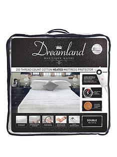 dreamland-dreamland-boutique-hotel-200tc-cotton-heated-mattress-protector-db