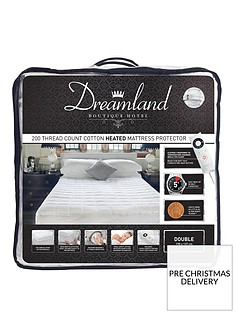 dreamland-dreamland-boutique-hotel-200tc-cotton-heated-mattress-protector-db