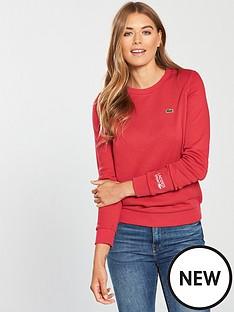 lacoste-crew-neck-sweatshirt-rednbsp