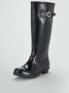 7fe9d09aa4a7 V by Very Jaden Riding Boot Wellie - Black