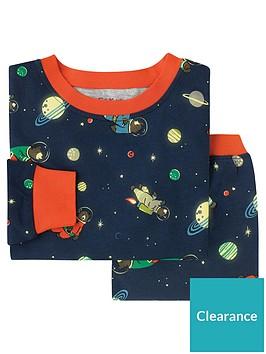 f0e844018f402 Cath Kidston Boys Bears In Space Jersey Pyjamas - Navy ...