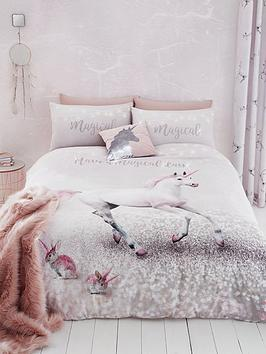 catherine-lansfield-enchanted-unicorn-duvet-cover-set