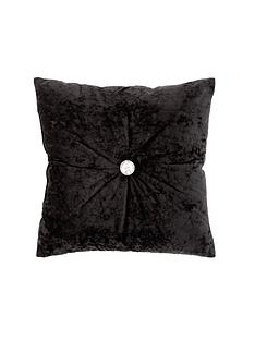catherine-lansfield-crushed-velvet-cushion-ndash-midnight-black