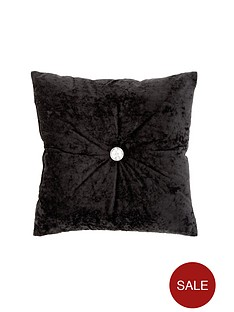 catherine-lansfield-crushed-velvet-cushion-ndash-midnight-black