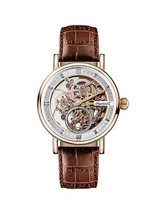 ingersoll-1892-the-herald-rose-gold-and-grey-skeleton-dial-brown-leather-strap-automatic-mens-watch
