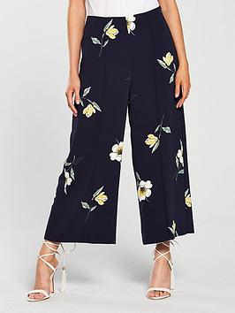 warehouse-warehouse-buttercup-printed-culottes