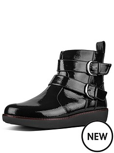 fitflop-fitflop-laila-double-buckle-crinkle-patent-ankle-boot