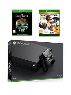 xbox-one-x-xbox-one-x-console-with-overwatch-and-sea-of-thieves-plus-optional-controller-and-or-12-months-live