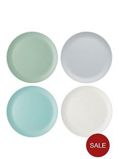 kitchencraft-colourworks-classic-ndash-set-of-4-melamine-dinner-plates