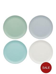 kitchencraft-colourworks-classic-ndash-set-of-4-melamine-side-plates