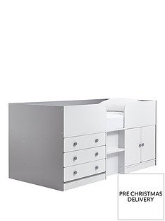 peyton-kids-cabin-bed-with-drawers-cupboard-and-mattress-options-buy-and-save-whitegrey