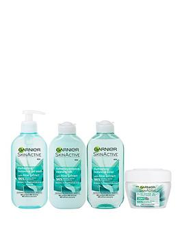 garnier-garnier-natural-aloe-extract-skin-care-regime-kit