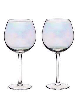kitchencraft-barcraft-set-of-2-iridescent-rainbow-500-ml-gin-glasses