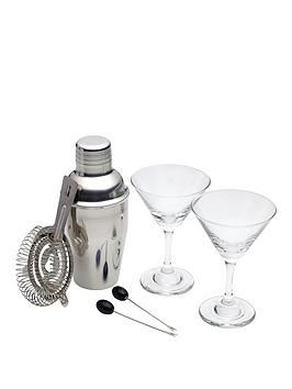 kitchencraft-barcraft-six-piece-mini-martini-cocktail-set