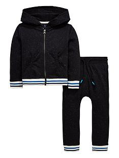 mini-v-by-very-boys-2-piece-flecked-sweat-and-jogger-set-black
