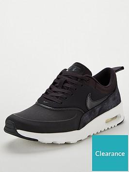 new product 5e155 50f39 Nike Air Max Thea Premium - Dark Grey