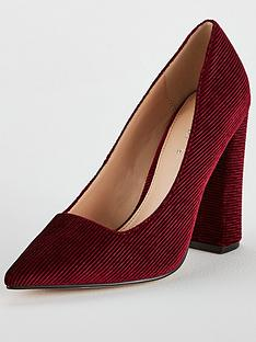 v-by-very-cate-block-heel-point-court-shoe-burgundy