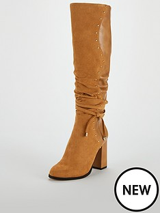 v-by-very-iman-stud-detail-slouch-knee-boot-tan