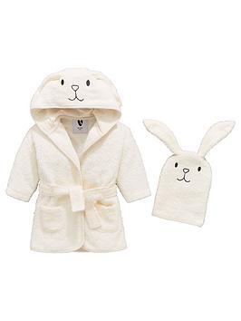 mini-v-by-very-baby-unisex-2-piece-bunny-robe-and-mitt-set-white