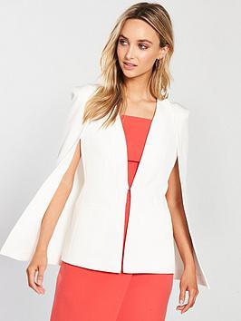 oasis-cape-back-blazer-off-white