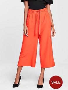 oasis-colour-pop-crop-wide-leg-trouser-red-orange