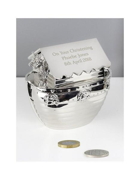 the-personalised-memento-company-personalised-silver-noahs-ark-money-box