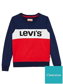 levis-girls-colourblock-logo-sweat-top
