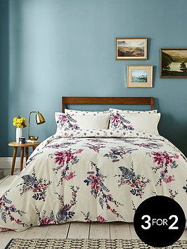 3e69cd7bf Joules Harvest Garden Cotton Percale Duvet Cover