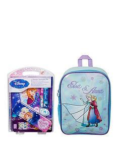 4306f8860f Disney Frozen Disney Frozen EVA Back Pack and Bumper Stationery Set