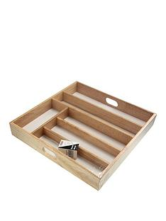 apollo-large-rubberwood-cutlery-drawer-organiser