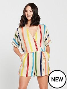 mango-stripe-playsuit-natural