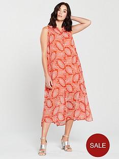 mango-bengala-paisley-maxi-dress-orange
