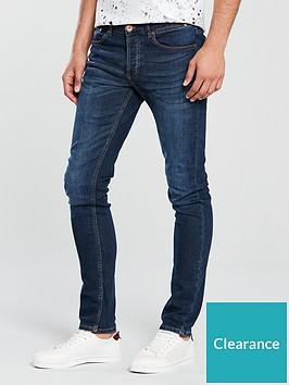 river-island-dark-blue-fade-sid-skinny-jeans