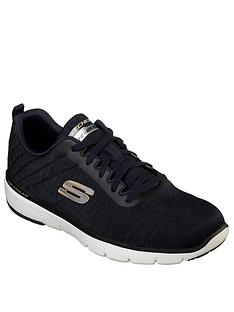 skechers-lace-up-jogger-trainers--nbspnavy