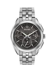 bulova-bulova-curv-gunmetal-and-silver-chronograph-dial-stainless-steel-bracelet-mens-watch