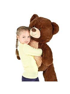 100cm-standing-dark-brown-bear