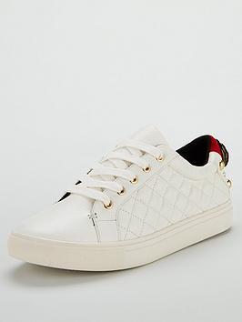 kurt-geiger-london-ludonbspleather-quilted-trainer-white